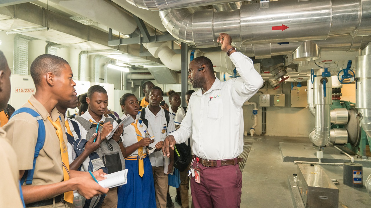 Digicel Jamaica Hosts Pcj Schools Energy Programme Field