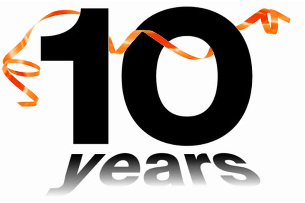 10 year anniversary.