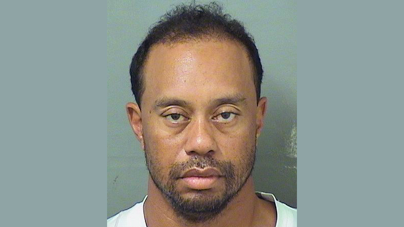 This image provided by the Palm Beach County Sheriff's Office on Monday, May 29, 2017, shows Tiger Woods. Police in Florida say Tiger Woods has been arrested for DUI. (Palm Beach County Sheriff's/AP)
