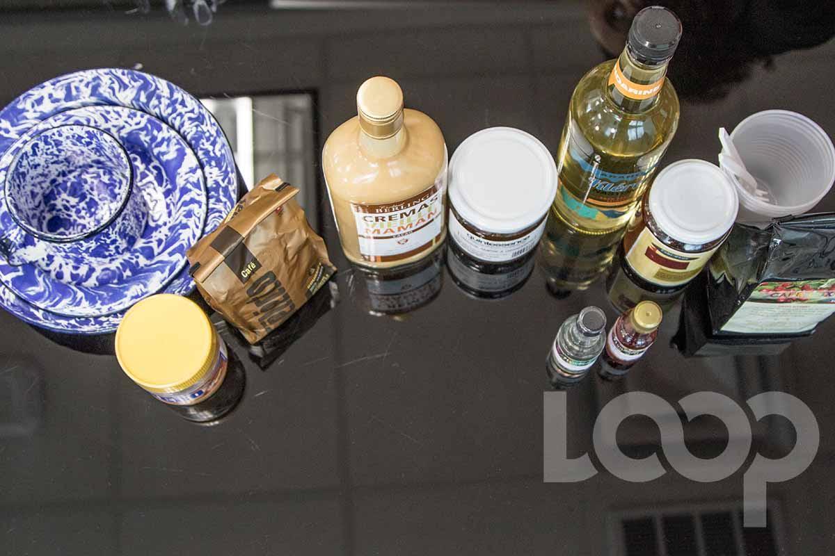 """Des produits """"Made in Haiti"""" /Crédit photo: Vladjimir Legagneur-Loop Haiti"""