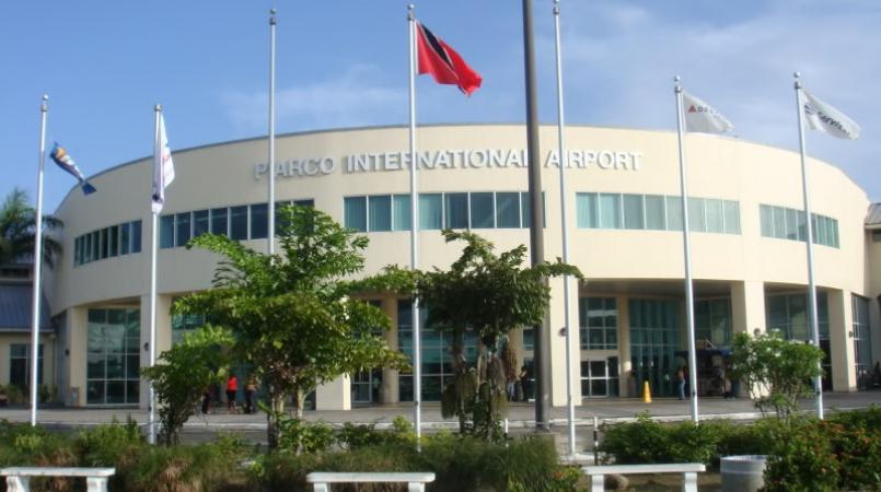 Piarco International Airport in Trinidad.