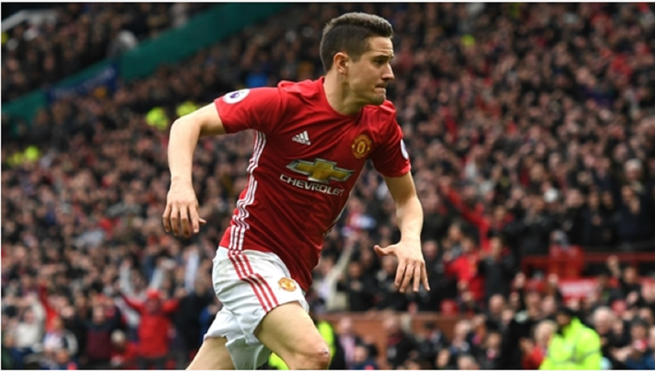 Manchester United midfielder Ander Herrera.