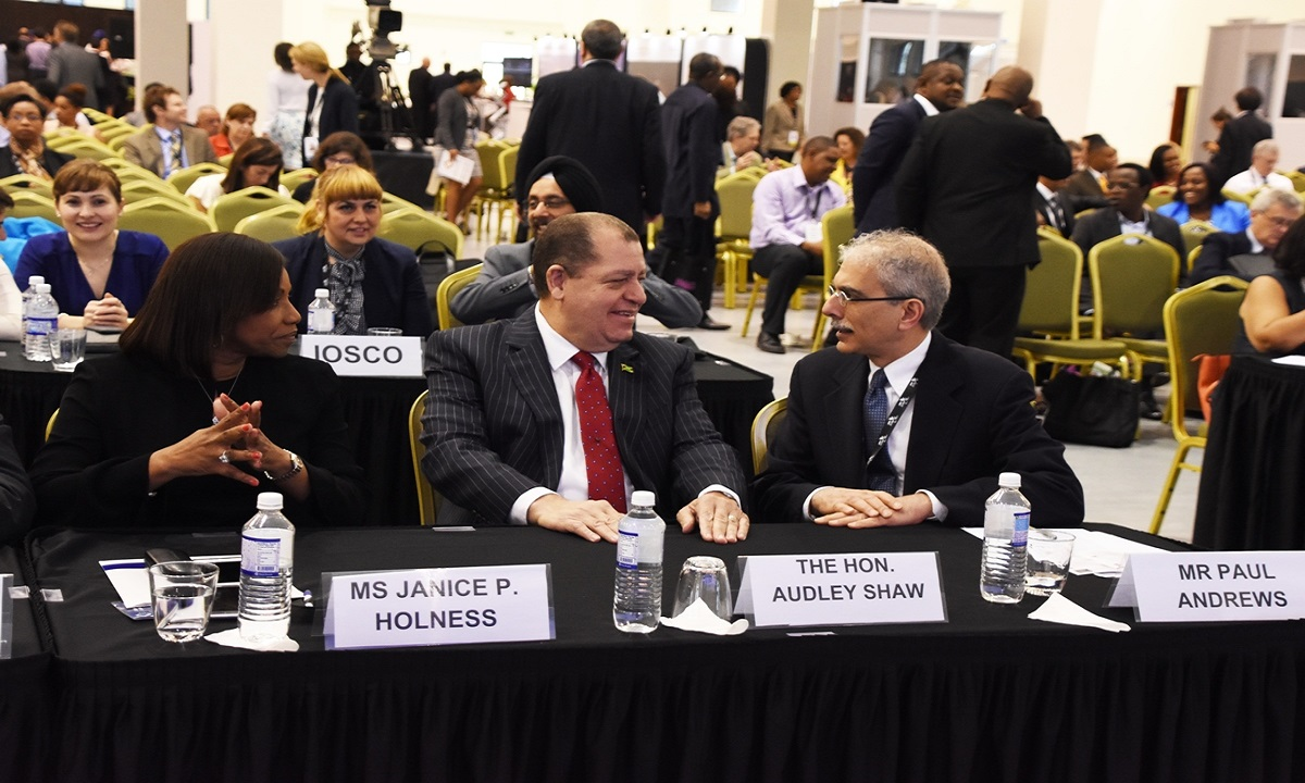 Jamaica Finance Minister Audley Shaw says regulators should ensure that capital markets are providing long-term investment tools with appropriate yield for the working age population to be able to afford living expenses after retirement.