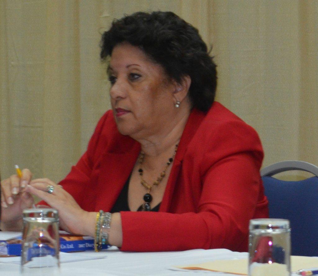 Executive Director of the Barbados Manufacturers' Association, Bobbi McKay.