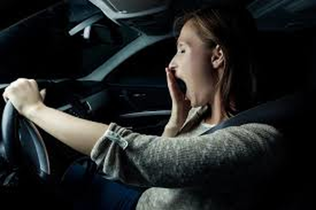 Don't drive tired!