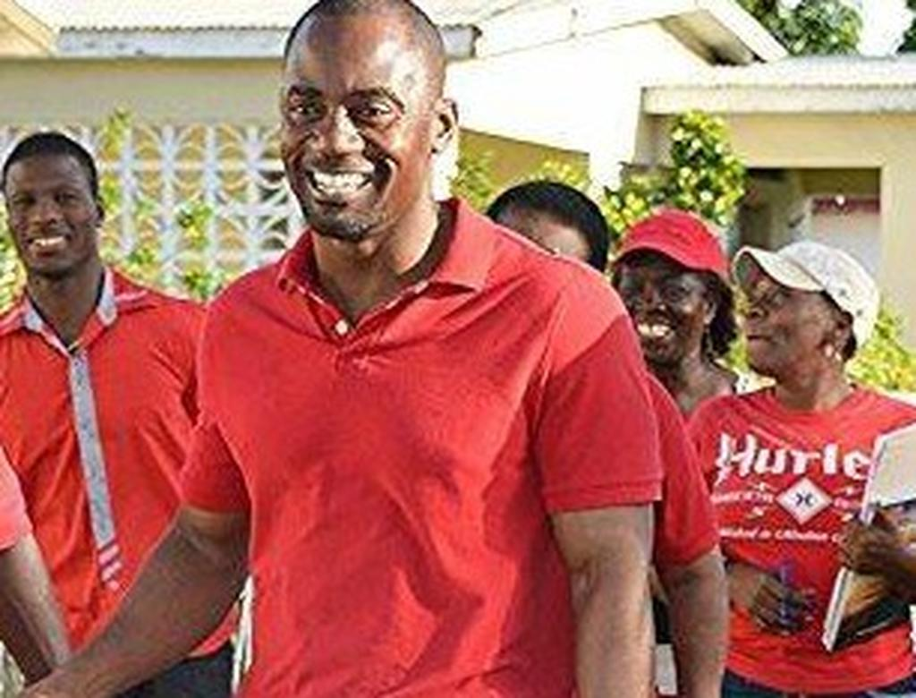 Barbados Labour Party (BLP) candidate for St Michael South, Kirk Humphrey.