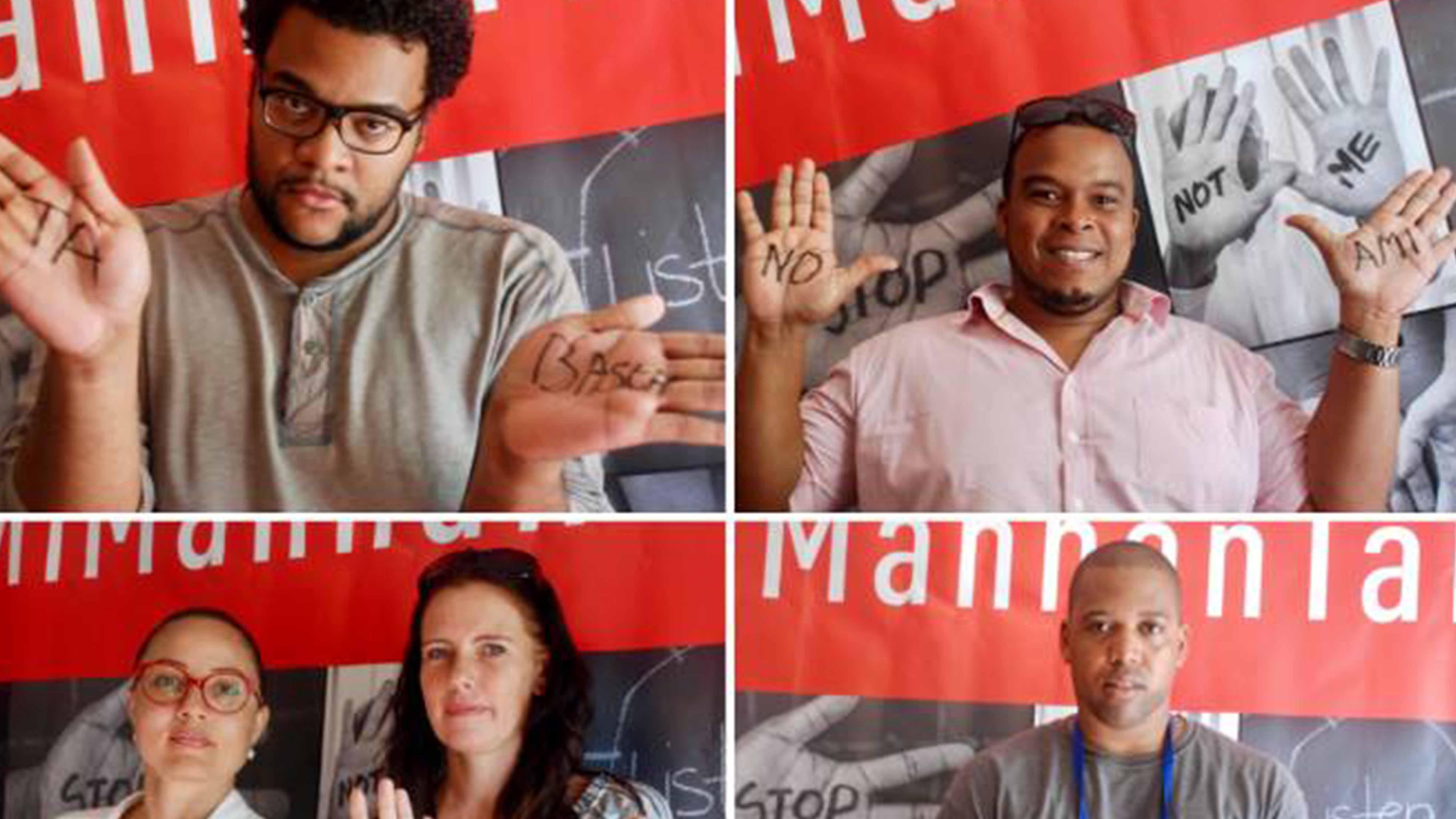 "E Selfie Challenge ""#MiMannanTaLimpi"" ta reta tur hende pa públikamente hisa man i hasi un testimonio kontra di korupshon."