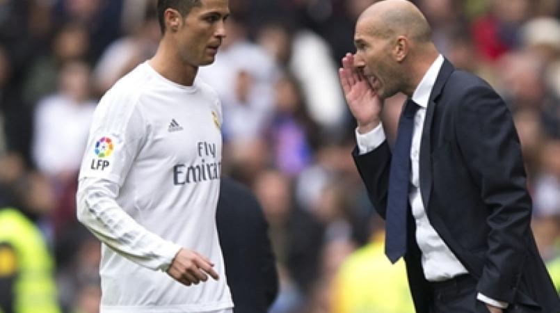 "Ronaldo is in ""very good nick"" and that is pleasing Zidane"