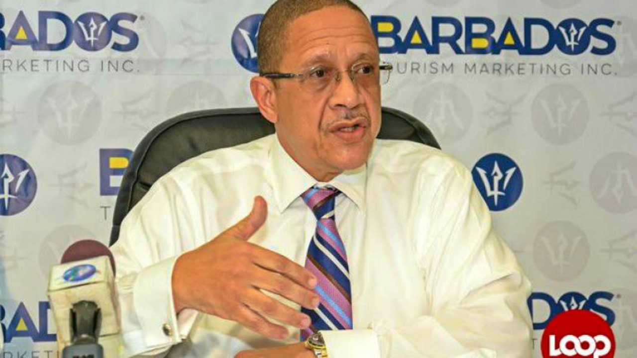 CEO of the Barbados Tourism Marketing Inc., William Griffith.