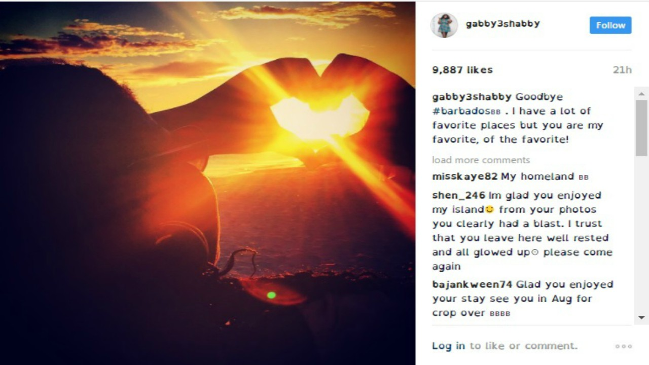 """""""I have a lot of favorite places but you are my favorite, of the favorite!"""" (Gabourey Sidibe Instagram Page)"""