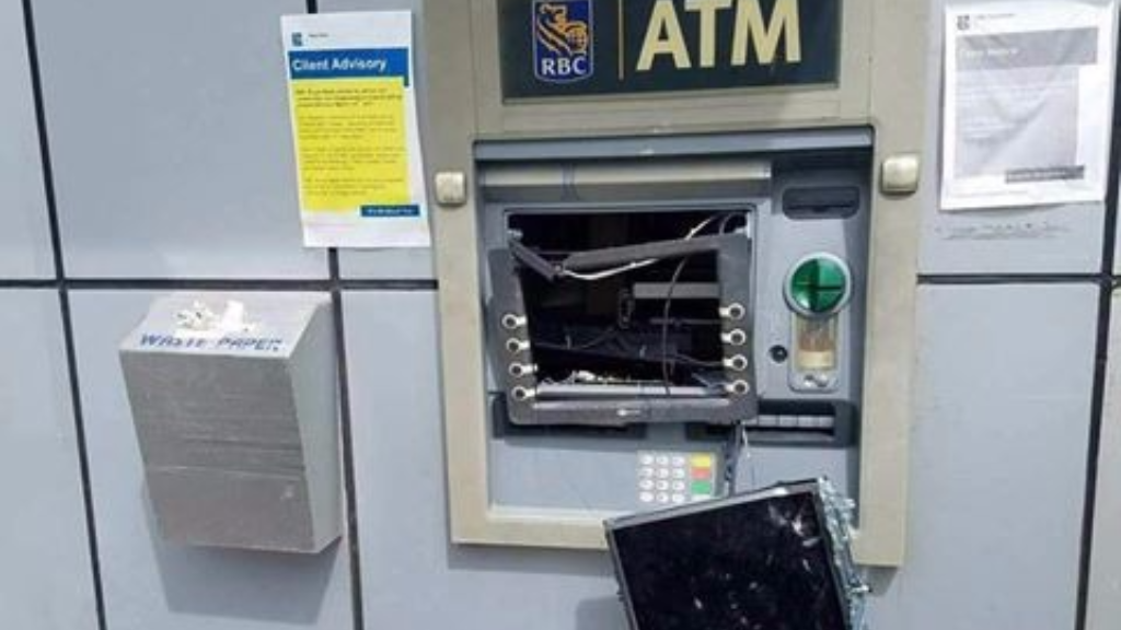 atm machine in