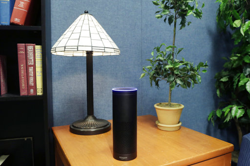 Amazon is giving its voice-enabled Echo speaker a touch screen and video-calling capabilities.