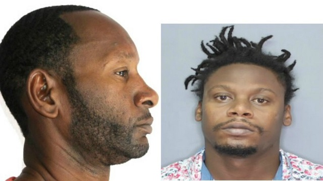 Jamar Hall and Carl Sealy are wanted by the Royal Barbados Police Force.