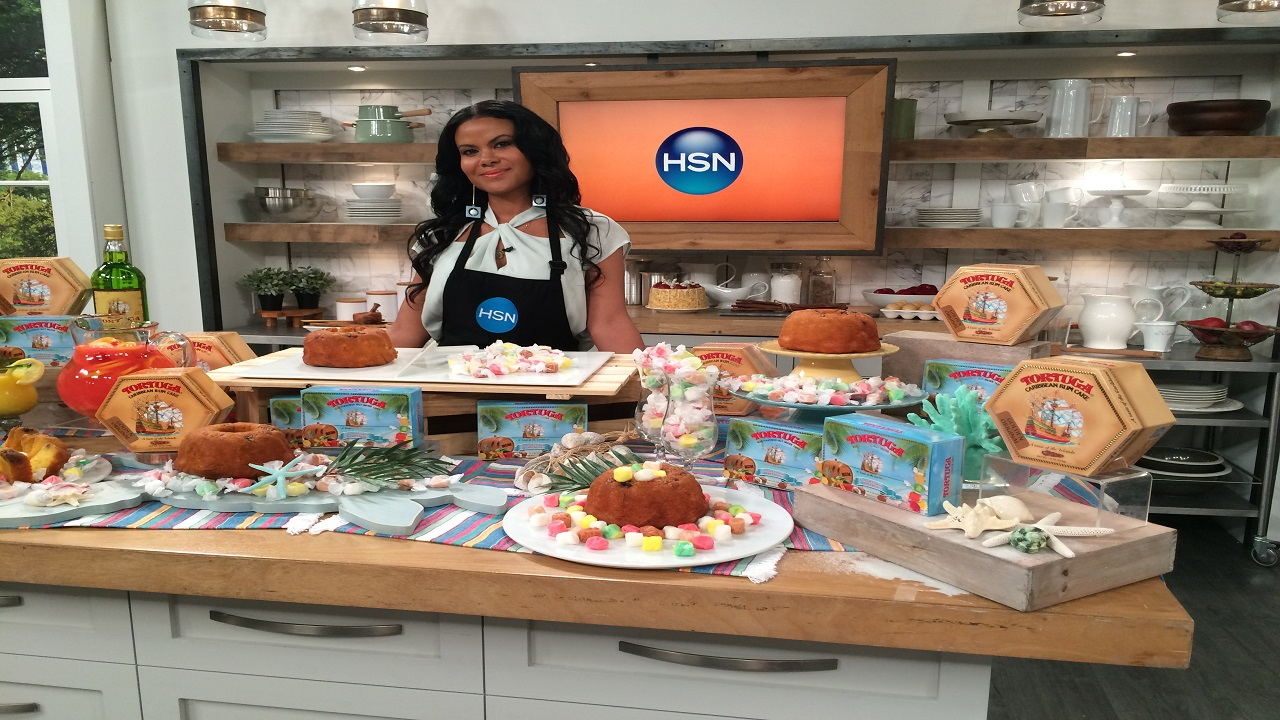 During the Valentine and Mother's Day season, approximately 12,000 Tortuga Rum Cakes were sold on HSN in 10-minute segments on two shows.