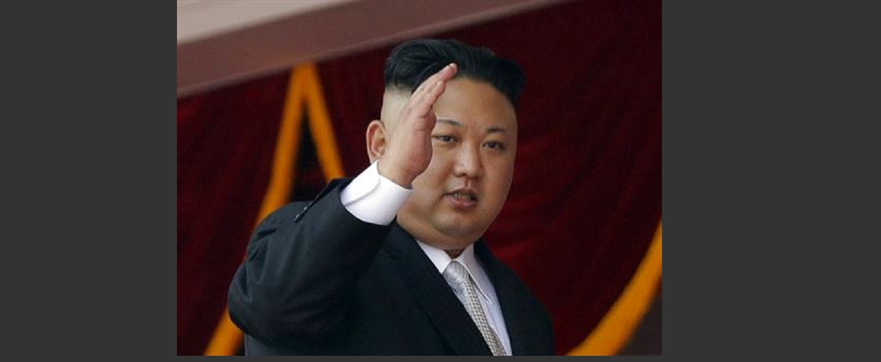 In this April 15, 2017, file photo, North Korean leader Kim Jong Un waves during a military parade in Pyongyang, North Korea, to celebrate the 105th birth anniversary of Kim Il Sung, the country's late founder and grandfather of current ruler Kim Jong Un.