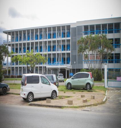 Ziekenhuis te Paramaribo