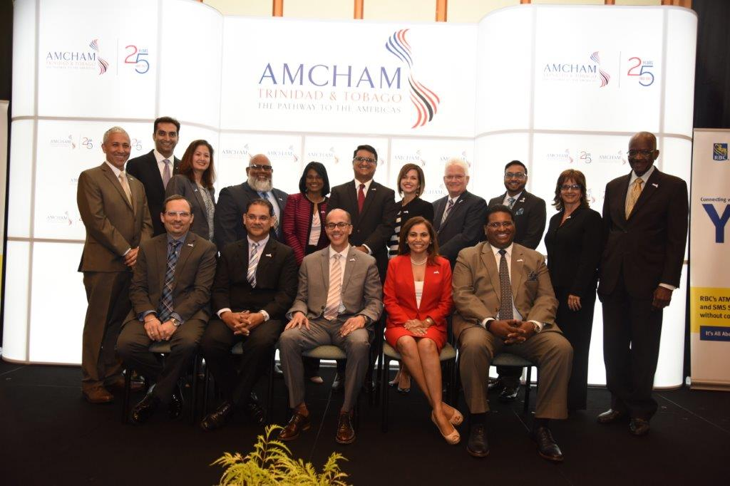 AMCHAM T&T's new President and Board of Directors