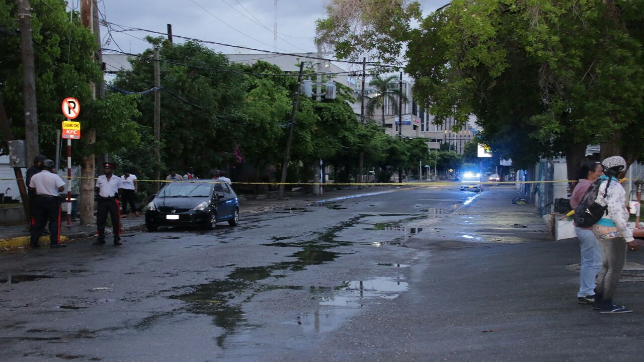 File photo of a crime scene