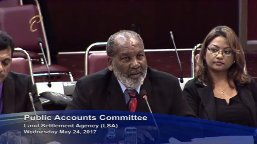 Land Settlement Agency Chairman Ossley Francis