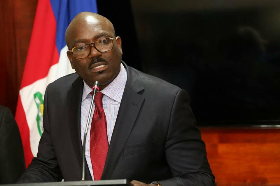Ronsard Saint-Cyr, secrétaire d'Etat a la Sécurité publique