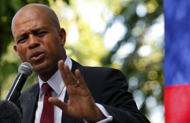 Michel Martelly, ancien président d'Haiti