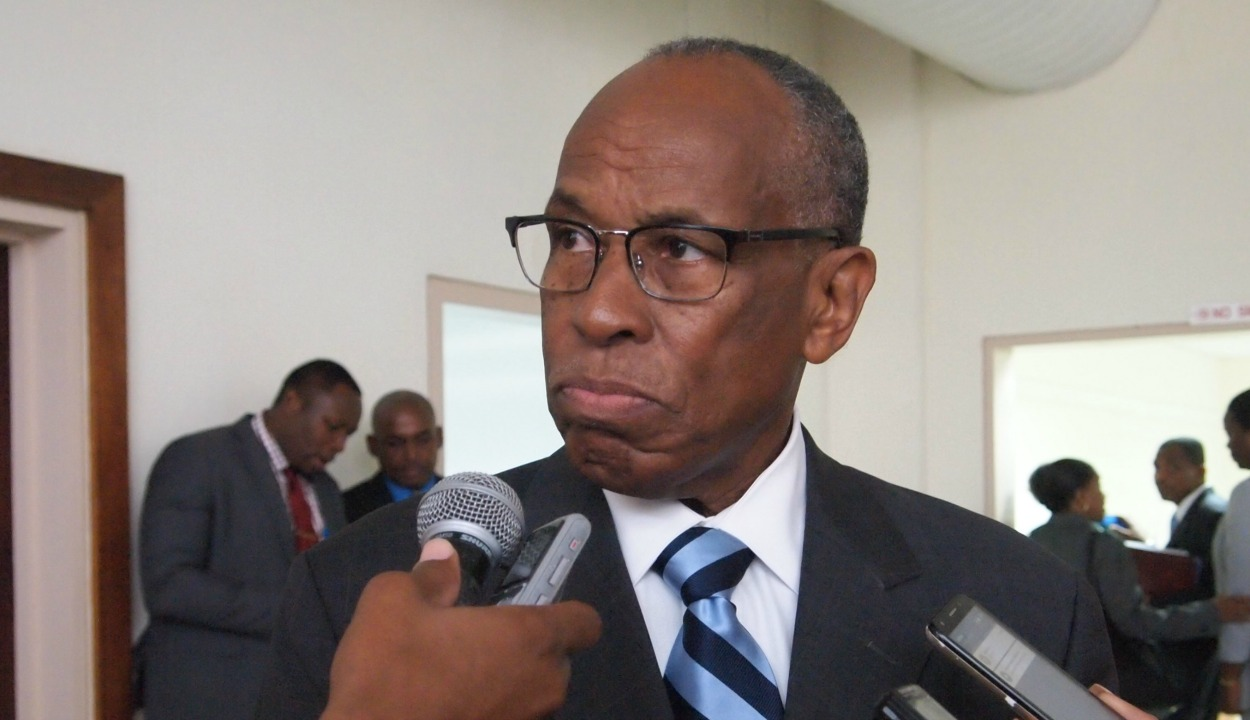 Sir Louis Straker, Foreign Minister of St. Vincent and the Grenadines and Outgoing Chair of the Council for Foreign and Community Relations (COFCOR)