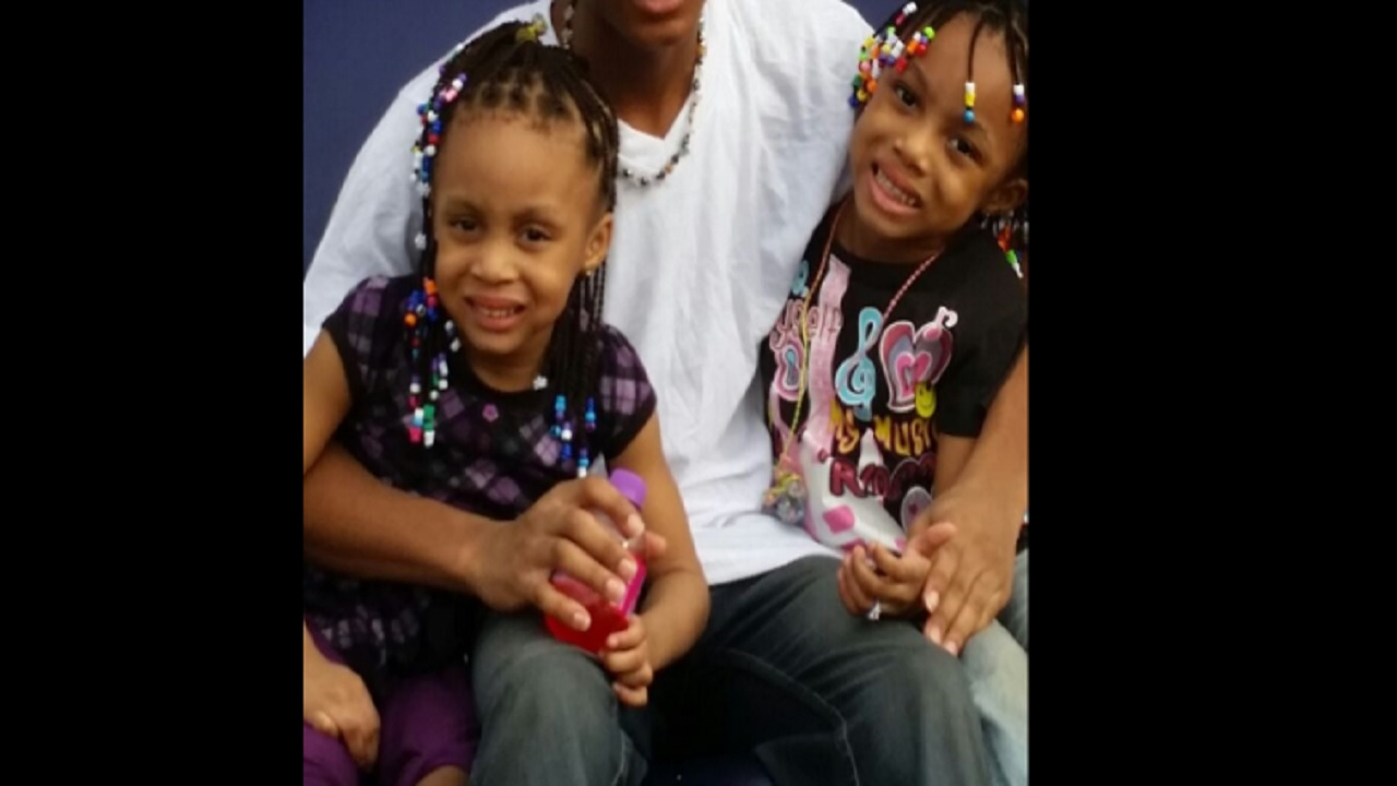 Photo of the two young girls whose bodies were found in an apartment on Saturday