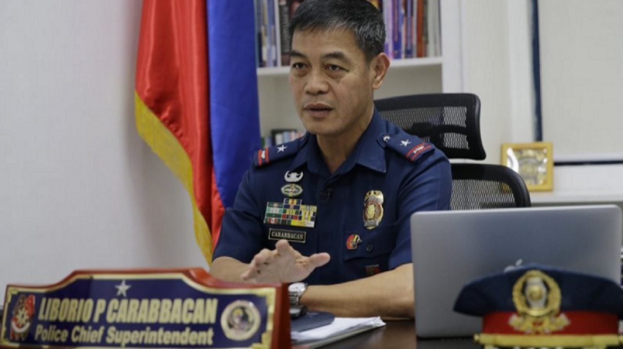 In this April 21, 2017 photo, Gen. Liborio Carabbacan of the National Police Women and Children Protection Center gestures during an interview in metropolitan Manila, Philippines. Authorities in the Philippines have arrested 3 women who were livestreaming sexually exploitative videos of girls to men paying by the minute to watch from half a world away.