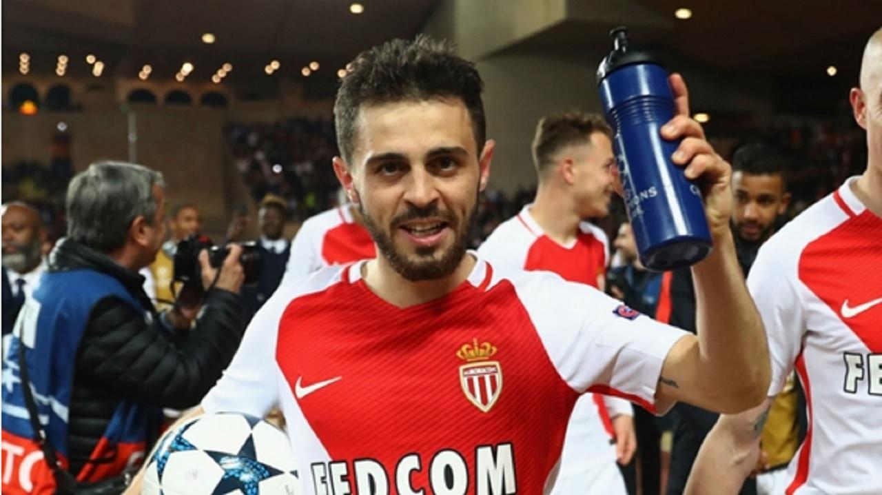 New Manchester City signing Bernardo Silva.