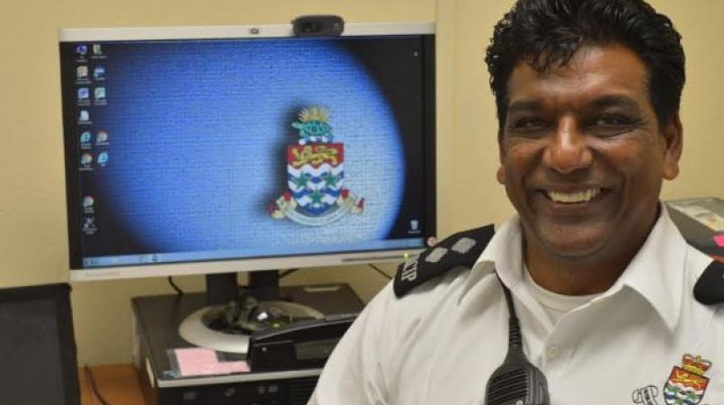 Inspector Andre Tahal, Area Commander for the Sister Islands.