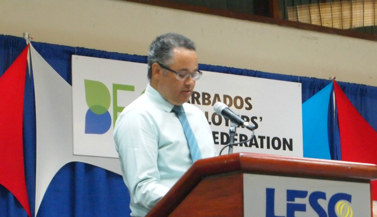 Managing Director of Barbados Light & Power, Roger Blackman