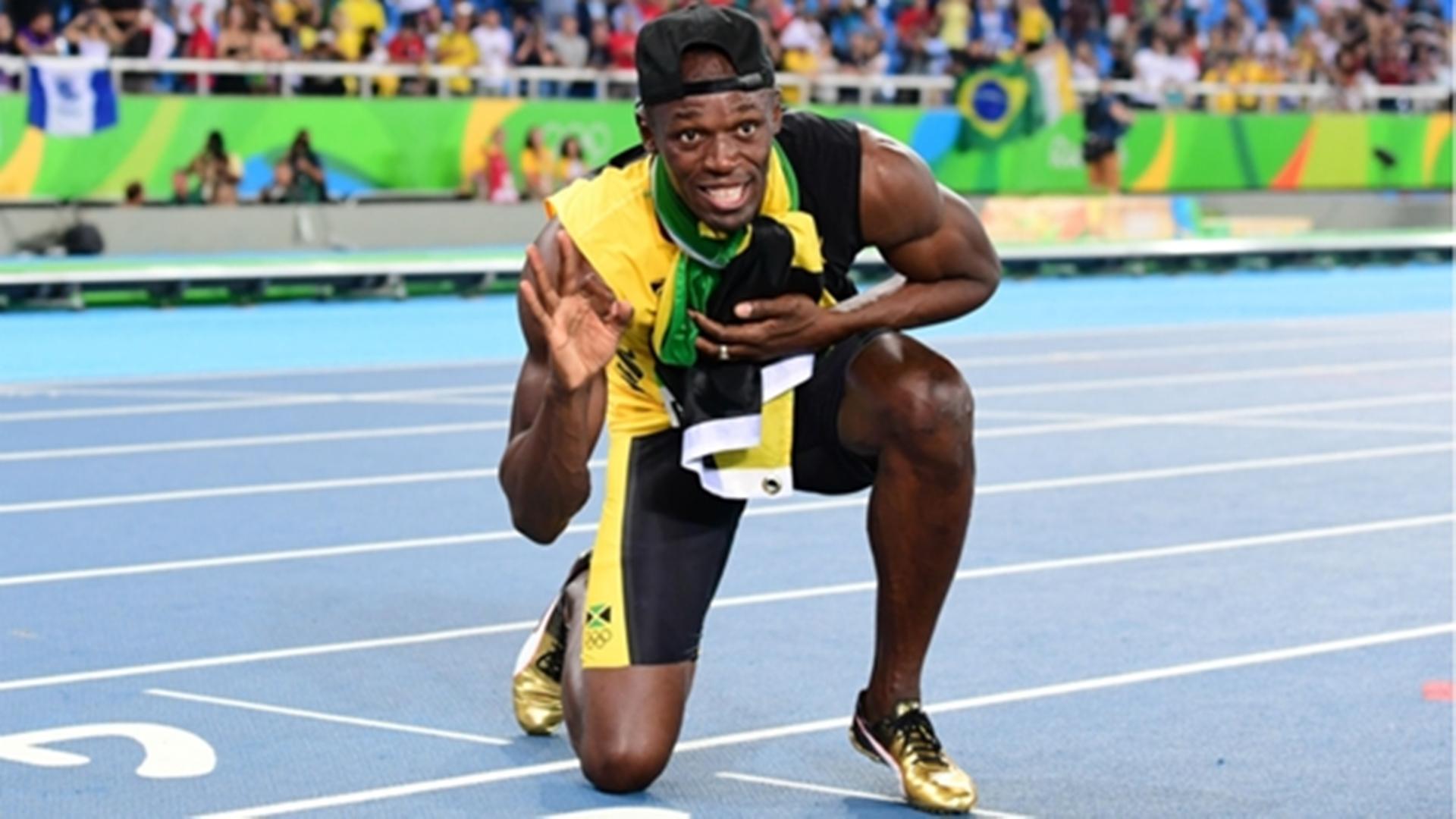 Legendary Sprinter Usain Bolt