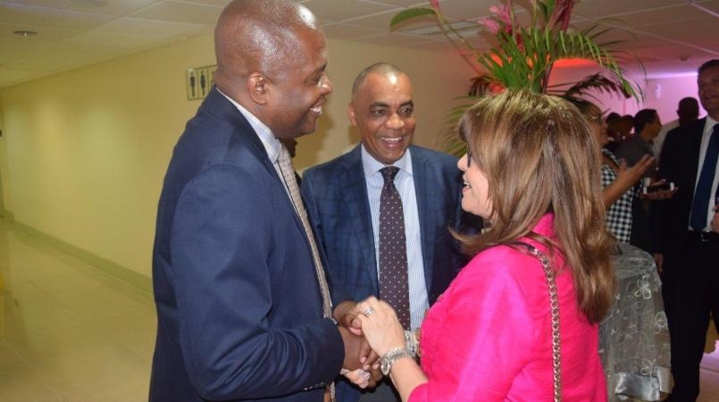 From Left to Right: Hayden Newton, General Manager , Airports Authority of Trinidad and Tobago, Nigel Ferguson, Chairman of the Authority and Maria Sastre, President and Chief Operations Officer of Signature Flight Support