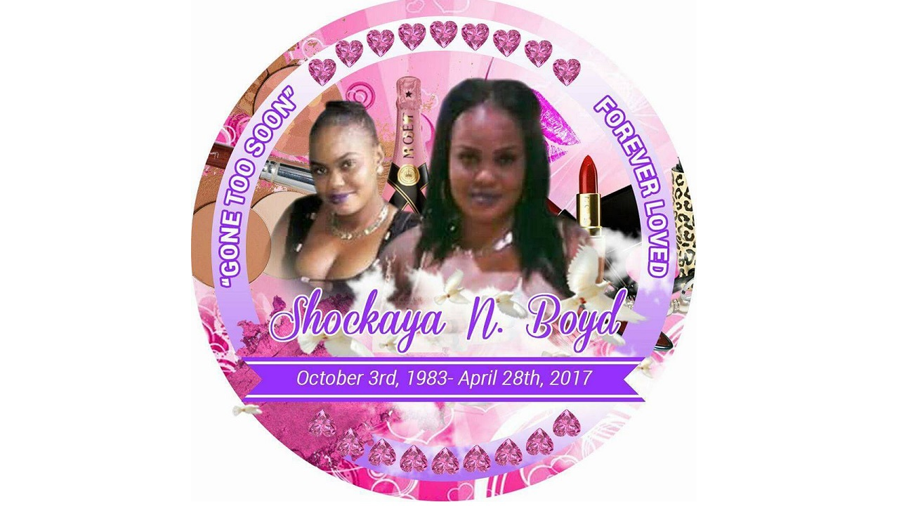 Shockaya Boyd was allegedly stabbed and killed by fellow Jamaican TedeshaHaynes in Barbados.