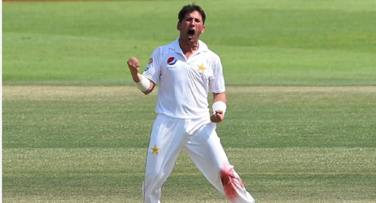 Pakistan spinner Yasir Shah.