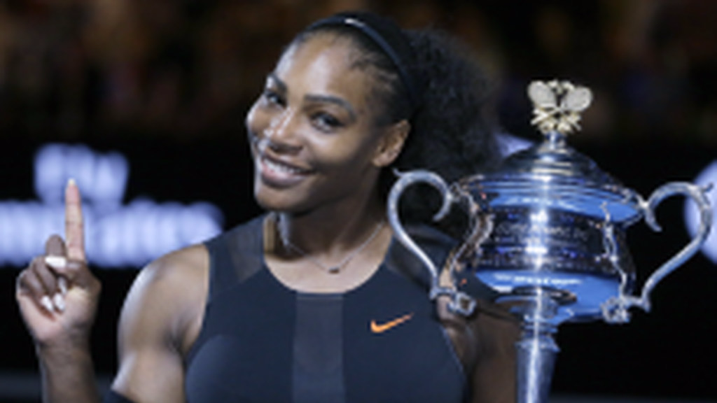 Tennis star, Serena Williams.
