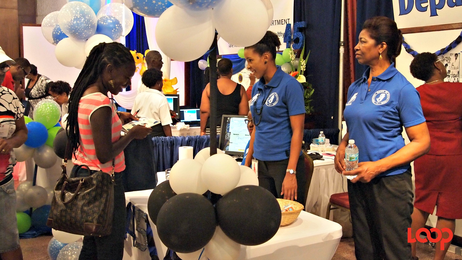 Open Day at the Central Bank of Barbados.