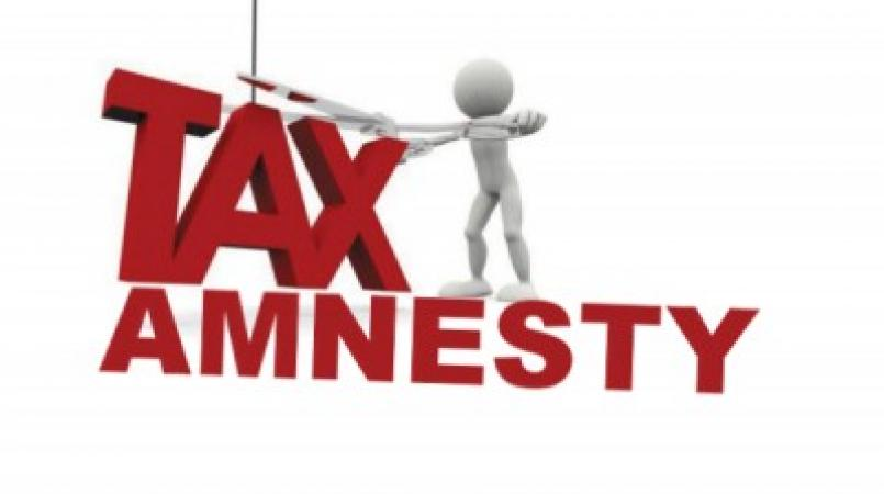 Government is re-introducing an amnesty for some categories of taxes.