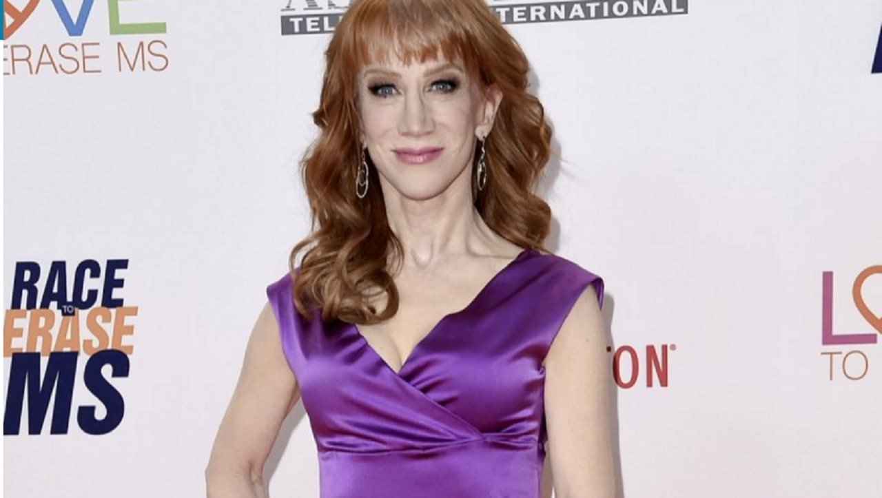In this May 5, 2017 file photo, Kathy Griffin attends the 24th Annual Race to Erase MS Gala in Beverly Hills, Calif.
