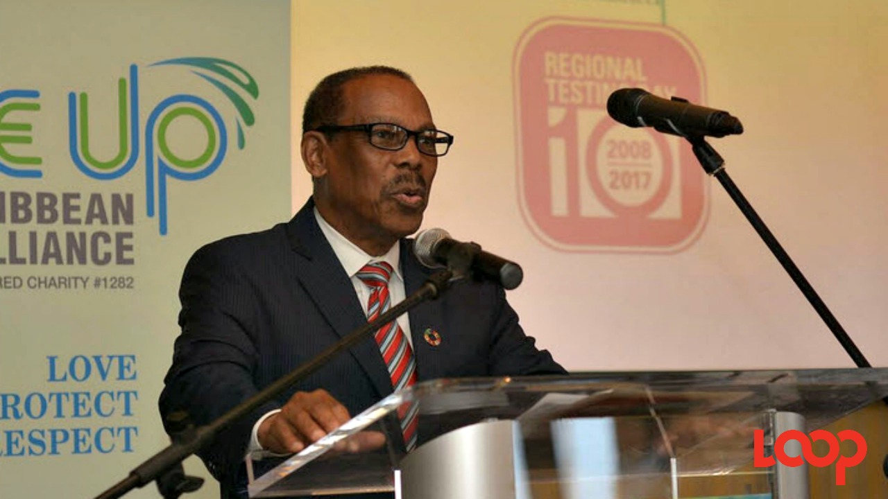 UN Secretary General's Special Envoy on HIV in the Caribbean, Dr. Edward Greene.