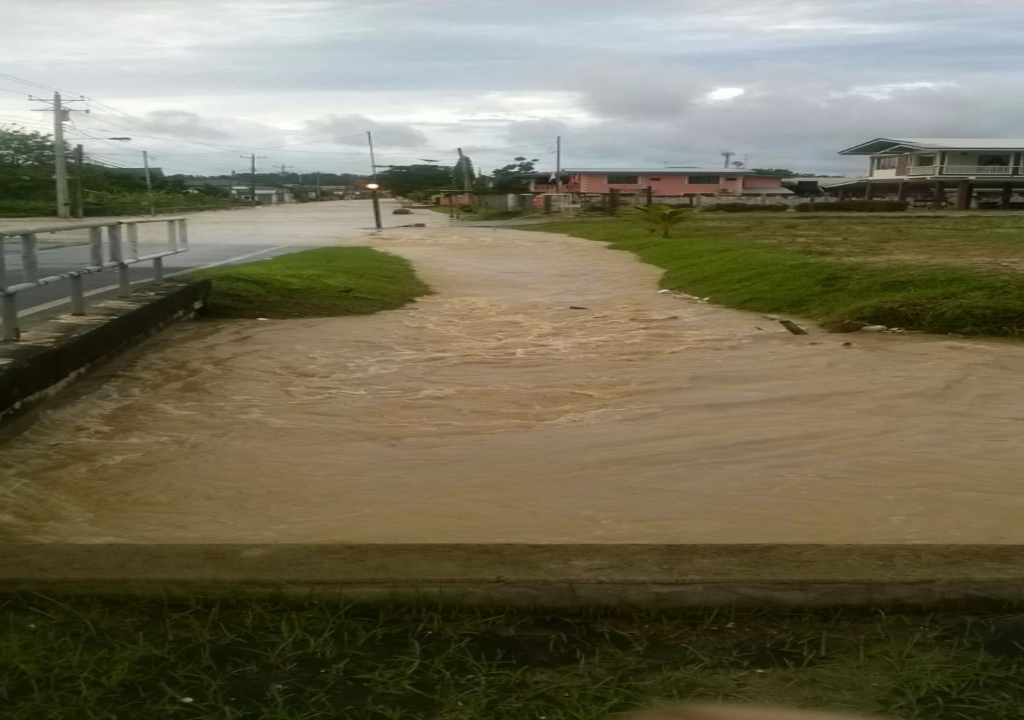 Flooding in Central Trinidad