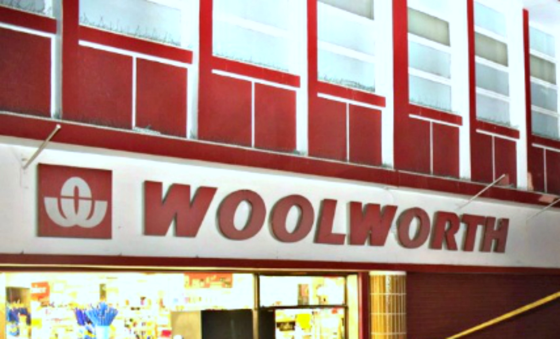 Woolworth located in Bridgetown.
