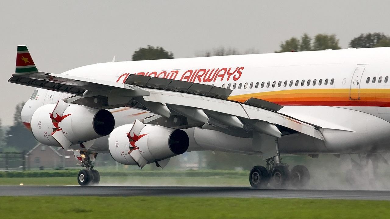 De Airbus A340-313 is voorzien van InFlight Entertainment