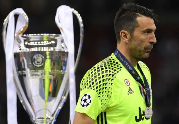 Gianluigi Buffon has lost three Champions League finals with Juventus but is determined to make the most of one more attempt next season