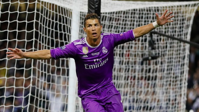 Real Madrid won a record 12th Champions League/European Cup trophy courtesy of Cristiano Ronaldo's double against Juventus.