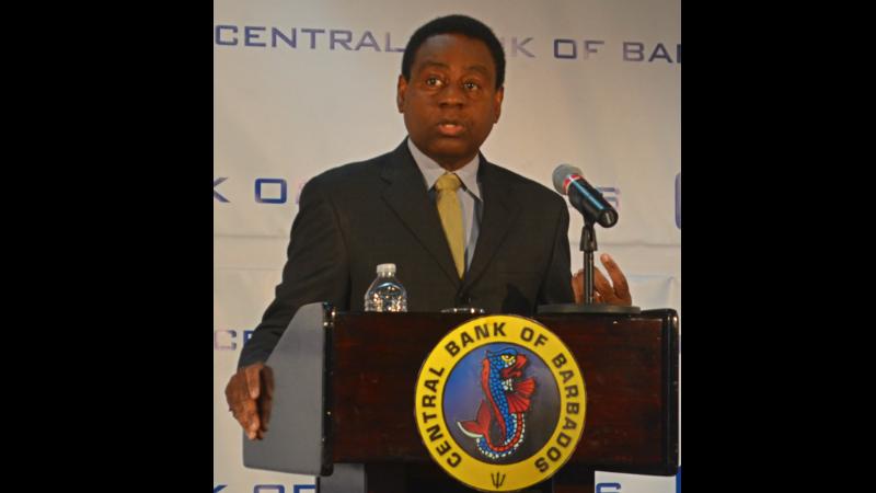 Acting Central Bank Governor Cleviston Haynes.