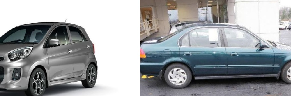Pictures of a similar vehicles, not the actual vehicles.