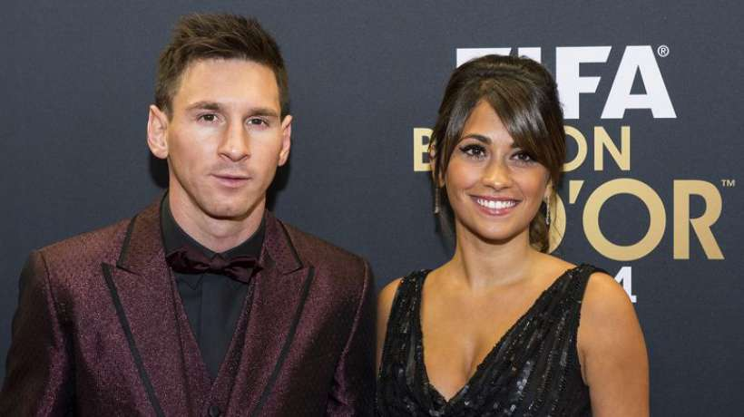 Le fotballeur Lionel Messi en couple depuis 2009 avec  le Top model Antonella Rozzucco./Photo: Foot Mercato