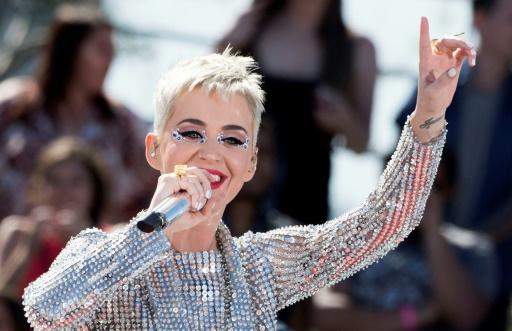 La superstar américaine de la pop Katy Perry, le 12 juin 2017 à Los Angeles
