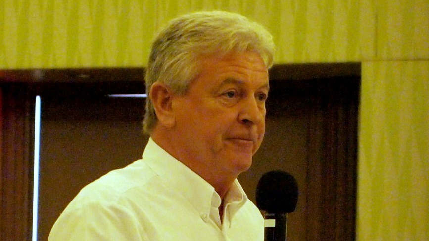 CEO of Caribbean LED Lighting, Jim Reid.